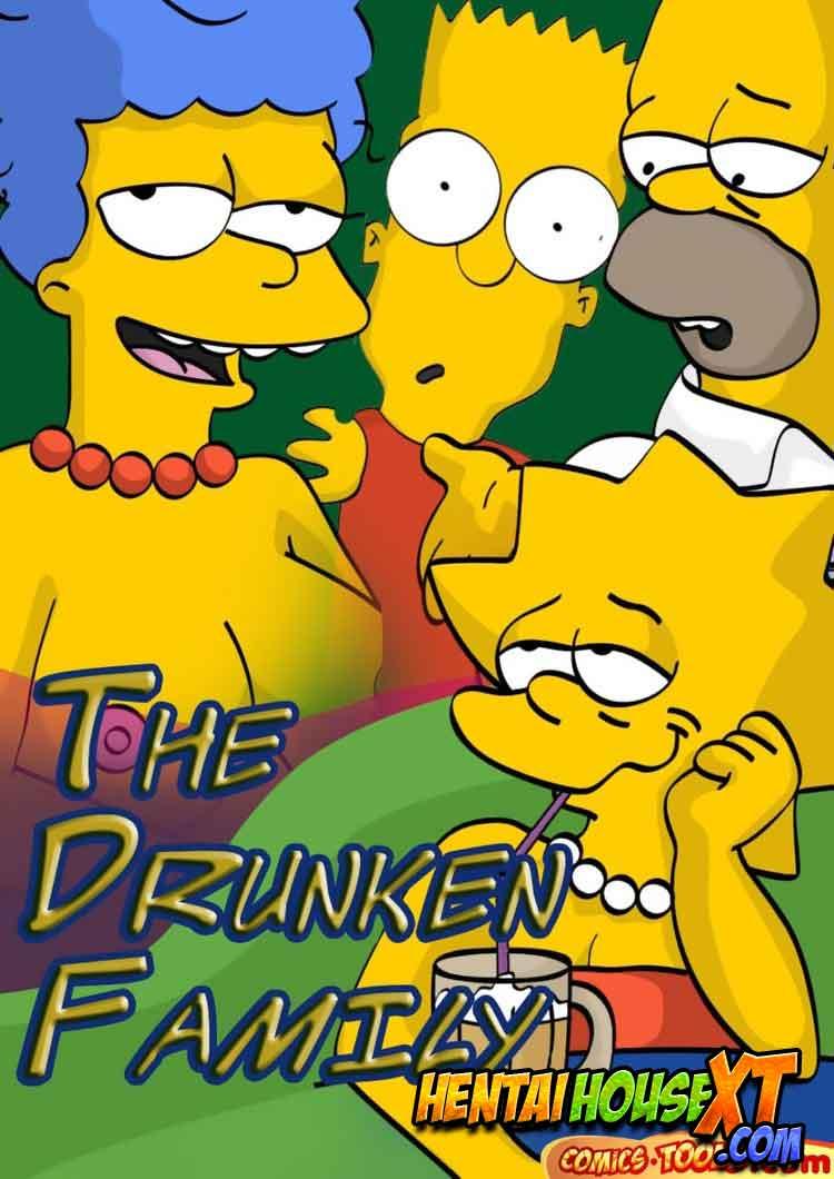 Os Simpsons Pornô em: A Família Bêbada