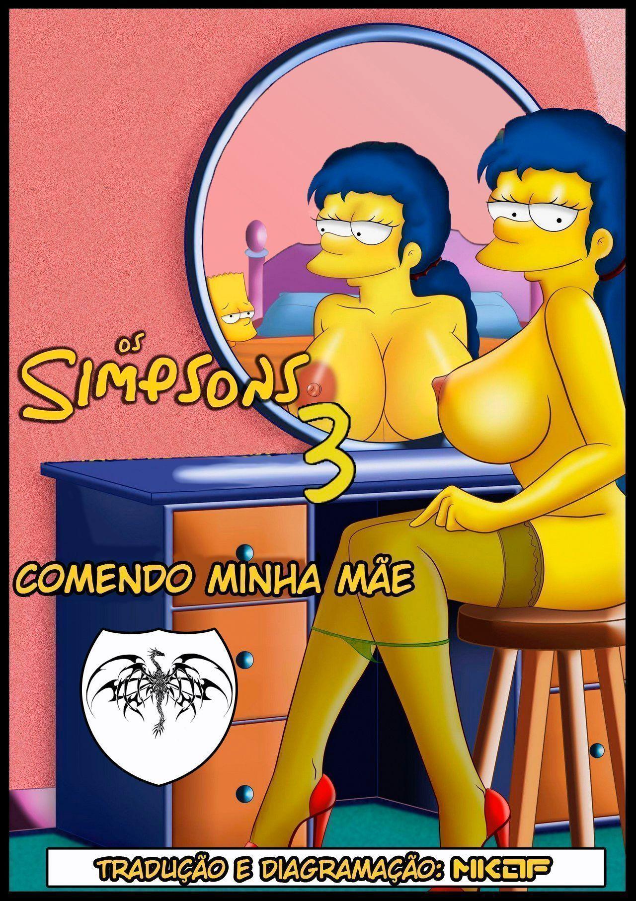 Os Simpsons em: Comendo minha mãe