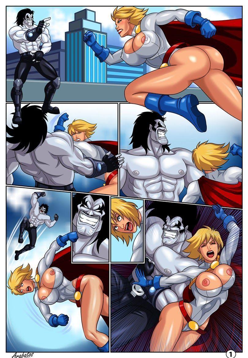 Super Heroínas Safadas em Apuros!