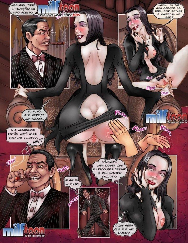 A Família Addams Pornô
