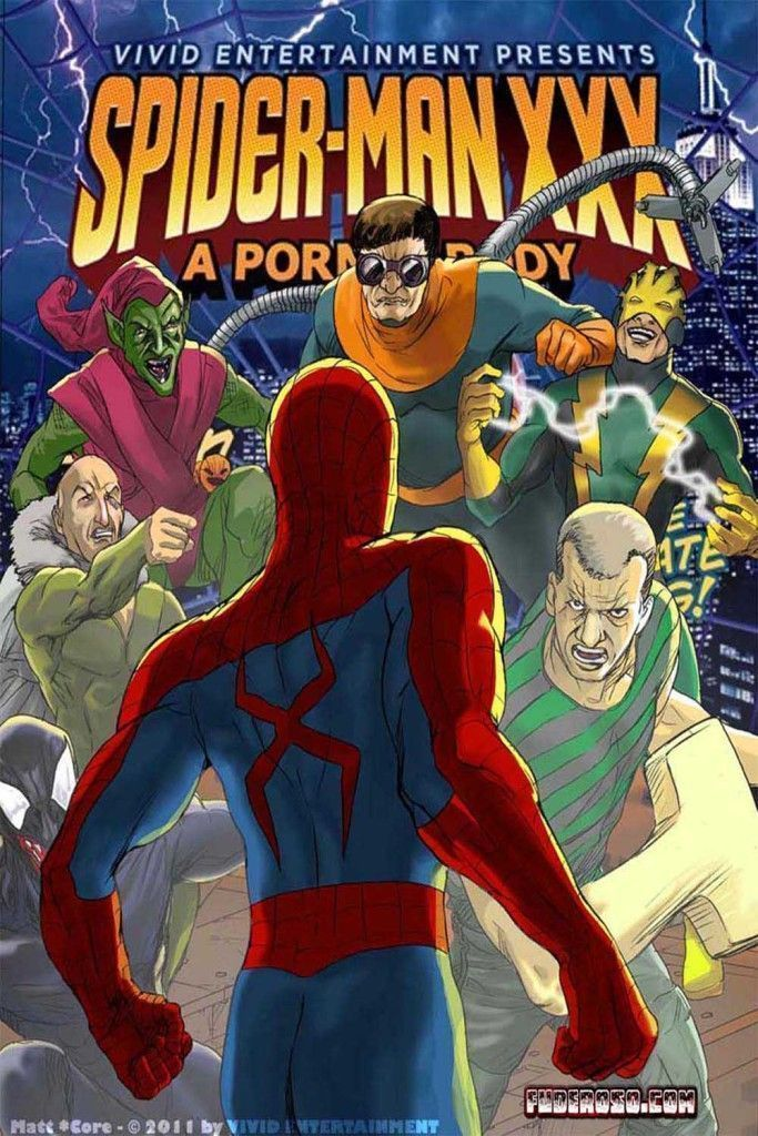 spiderman paródia pornô