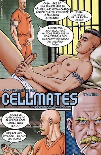 Companheiros de cela – Sexo na cadeia