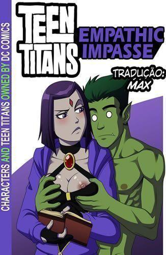 Jovens Titans – Rolando um impasse