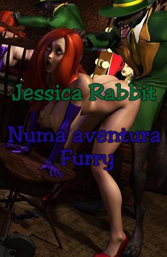 Jéssica Rabbit numa aventura furry