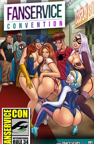 A convenção das cosplays gostosas